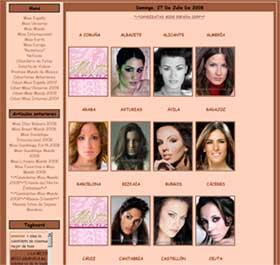 Candidatas Miss España 2009
